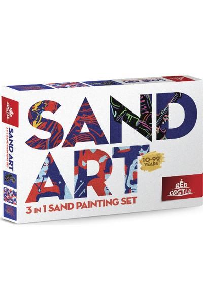 Red Castle YK-03 Sand Art Yetişkin Kum Boyama Aktivite Seti