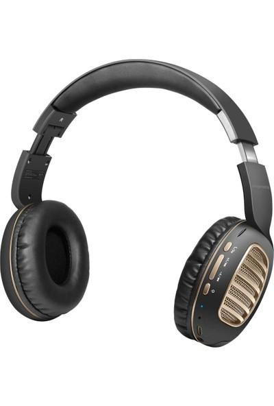 Promate Concord Bluetooth Kulaklık Kablosuz Kulak Üstü Kontrol Düğmeli