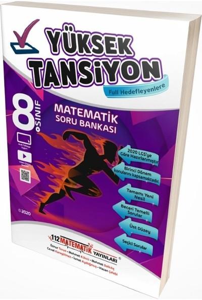 112 Matematik Yüksek Tansiyon Test 8. Sınıf LGS Soru Bankası