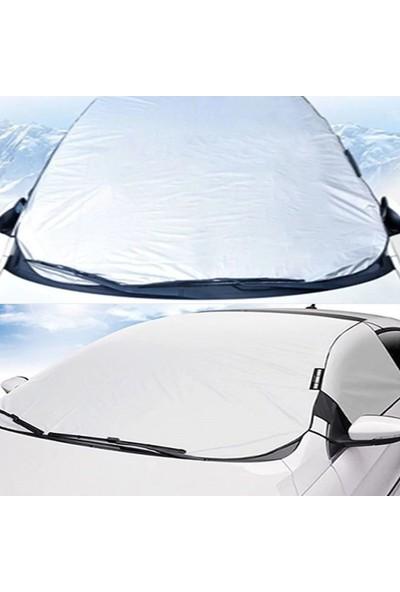 Vestark Buzlanma Donma Önleyici Lastikli Yarım Branda Güneş Koruyucu ve Miflonlu