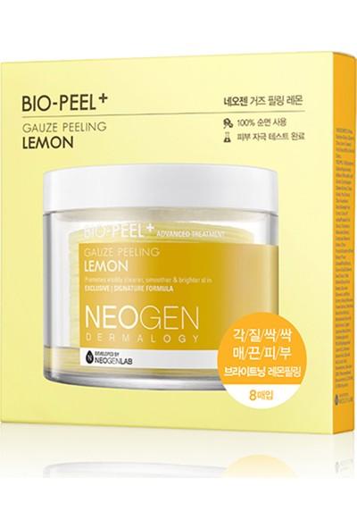 Neogen Bio-Peel Gauze Peeling Lemon Mini - Kimyasal &mekanik Peeling Ikisi Bir Arada Çözüm 8'li