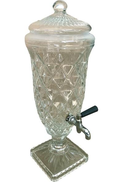 Kristal Cam Sebil Şerbetlik 2.25LT