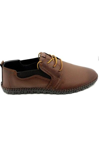 Pabucchi 001401 Erkek Taba Çarık Model Günlük Ayakkabı