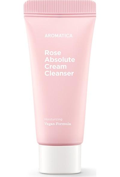 Aromatica Rose Absolute Cream Cleanser Mini – Gül Ekstreli Temizleyici Krem Mini