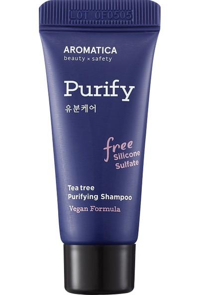 Aromatica Tea Tree Purifying Shampoo Mini - Çay Ağacı Özlü Arındırıcı Şampuan Mini 20ML