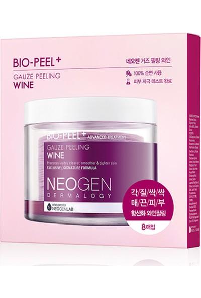 Neogen Bio-Peel Gauze Peeling Wine Mini - Mekanik & Kimyasal Peeling Ikisi Bir Arada Çözüm 8'li