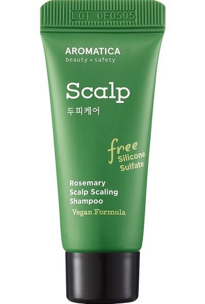Aromatica Rosemary Scalp Scaling Shampoo Mini - Biberiye Özlü Saç & Saç Derisi Şampuanı Mini 20ML