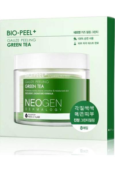Neogen Bio-Peel Gauze Peeling Green Tea Mini - Kimyasal &mekanik Peeling Ikisi Bir Arada Çözüm 8'li