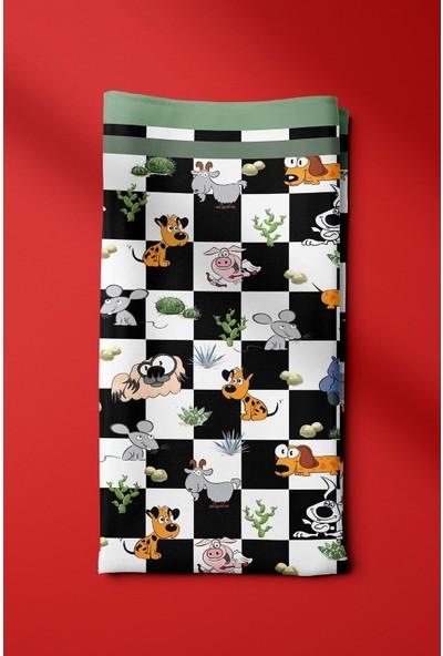 Modabutik Köpek Bandanası Siyah Beyaz IE.9987.01