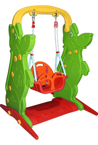 King Kids Konfor Salıncak Yeşil