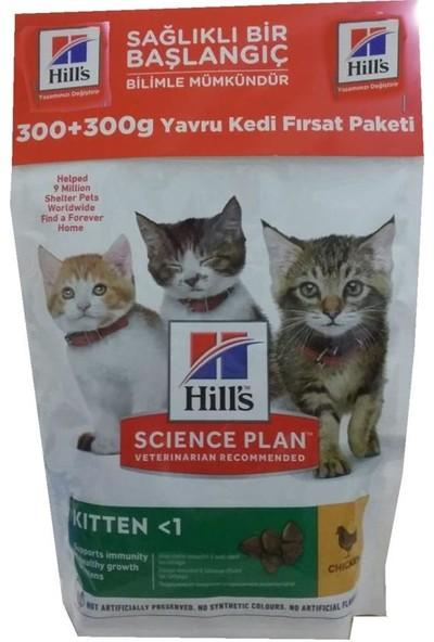 Hill's Yavru Kedi Maması Tavuklu 300 + 300 gr
