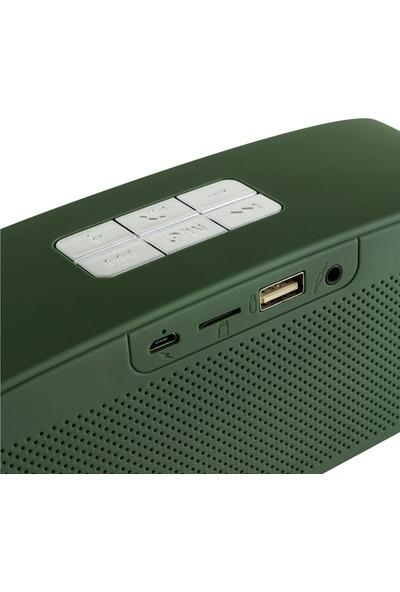 MF Product Acoustic 0148 Kablosuz Bluetooth Speaker Yeşil