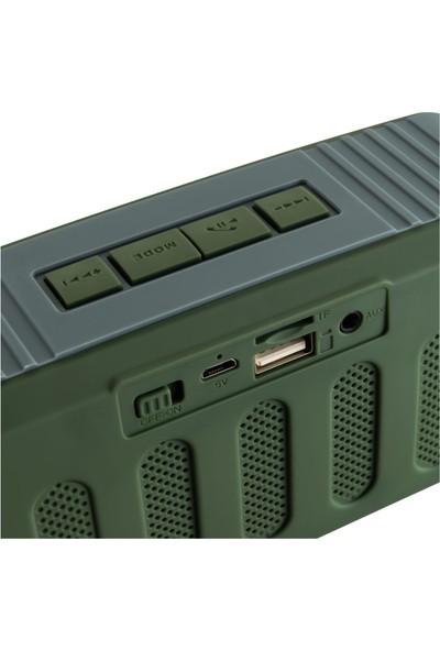 MF Product Acoustic 0144 Kablosuz Bluetooth Speaker Yeşil
