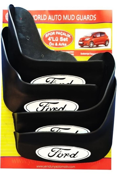 Yeni Dünya Ford Focus 2012 Sonrası 4'lü Paçalık-Çamurluk-Tozluk