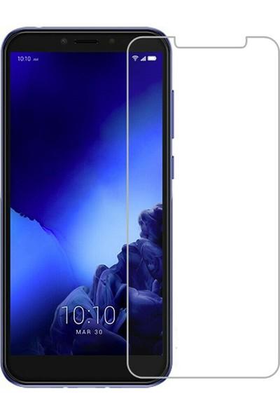 NoTech Alcatel 1s Cam Ekran Koruyucu Şeffaf