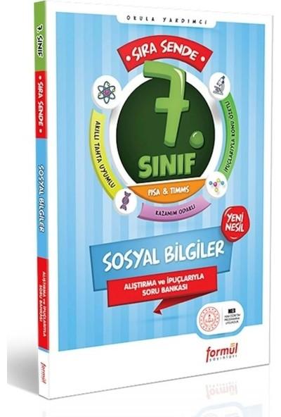 Formül Yayınları Sıra Sende 7.Sınıf Sosyal Bilgiler Alıştırmalı ve Örnek Çözümlü Soru Bankası