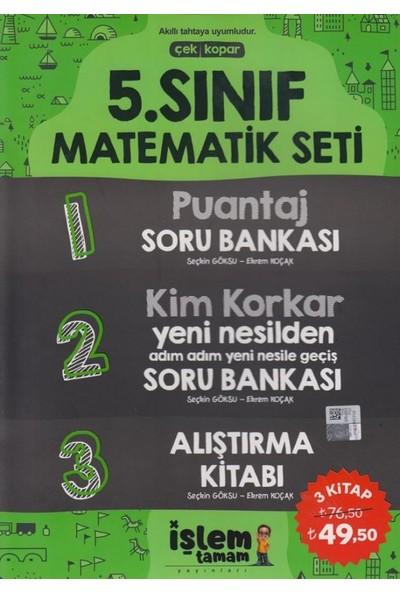 Işlem Tamam Yayınları 5. Sınıf Matematik Seti