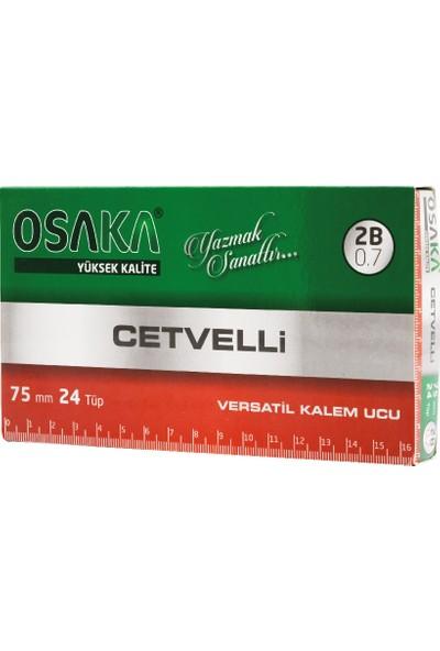 Osaka Oku-75 Cetvelli 2b Kalem Ucu 0.7 mm 75 mm