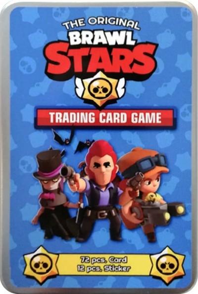Brawl Stars Kart Teneke Kutu Seri 3 72'li