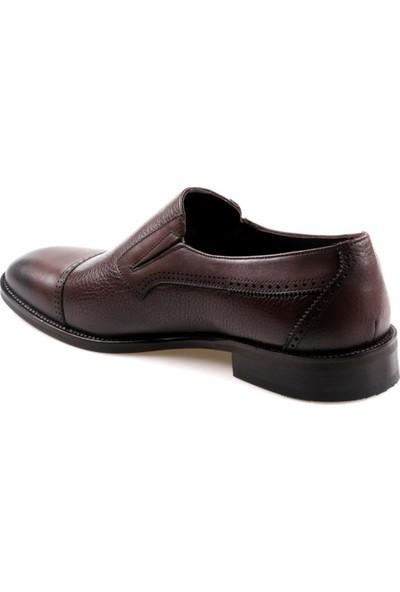 James Franco 16564 Kahve Klasik Erkek Deri Ayakkabı
