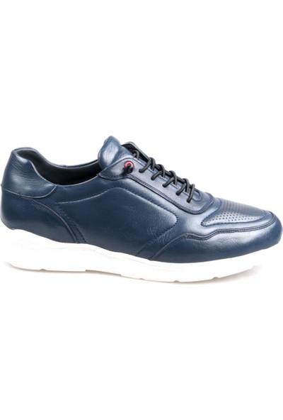 Tardelli 3703 Ortapedik Lacivert Günlük Erkek Deri Ayakkabı