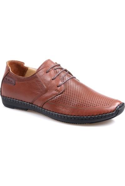 Tardelli 3667 Ortapedik Taba Günlük Erkek Deri Ayakkabı