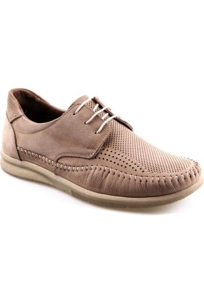 James Franco 021 Ortapedik Vizon Günlük Erkek Deri Ayakkabı