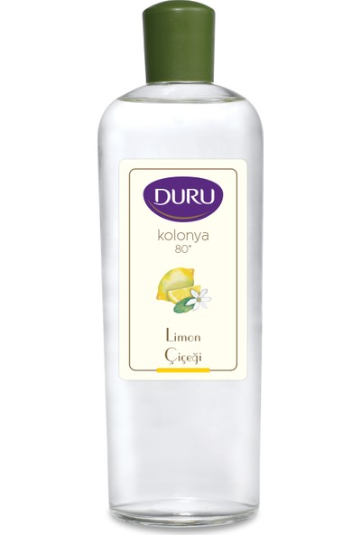 Duru Limon Kolonya Cam Şişe - 400 ml