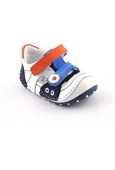 Akıllı Şirin İçi Dışı Deri Tam El İşçiliği İlk Adım Bebek Ayakkabı Çok Renkli