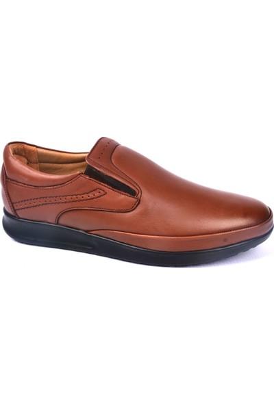 Paul Branco M-83045 Hakiki Deri Taba Günlük Erkek Ayakkabı