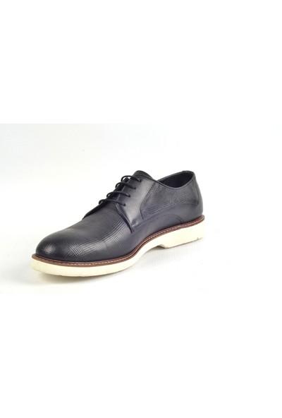 Paul Branco M-83605 Hakiki Deri Siyah Klasik Erkek Ayakkabı