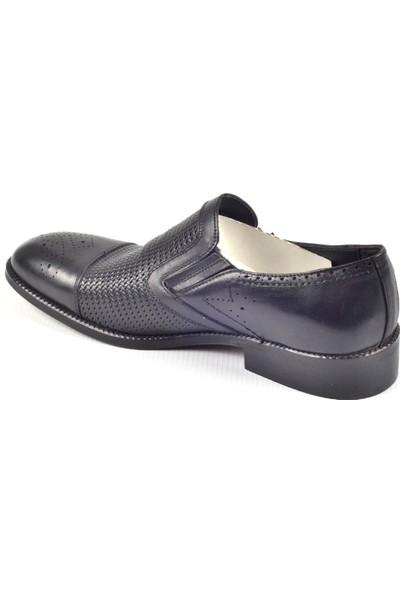 Paul Branco M- 83104 Hakiki Deri Siyah Klasik Erkek Ayakkabı