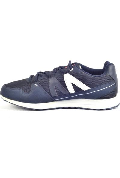 Tiglon M-81014 Lacivert Fileli Günlük Erkek Spor Ayakkabı