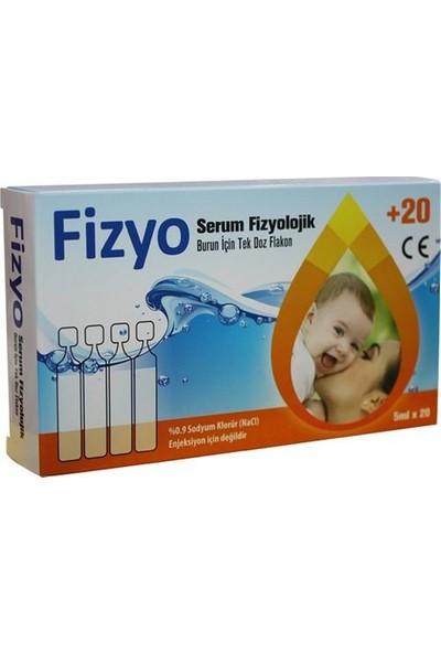 Deniz Pharma Fizyo Serum Fizyolojik 5 ml - 20 Adet