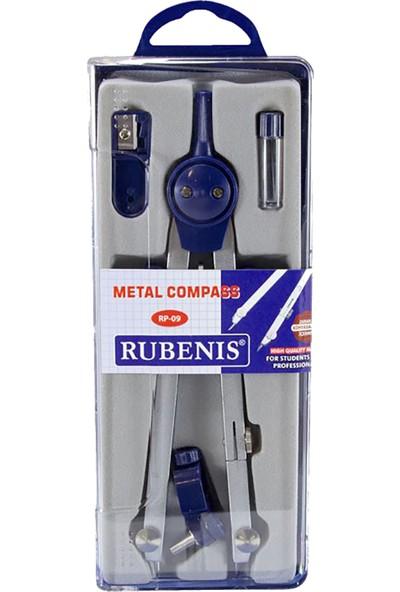 Rubenis Rp-09 Ortadan Ayarlı Metal Pergel