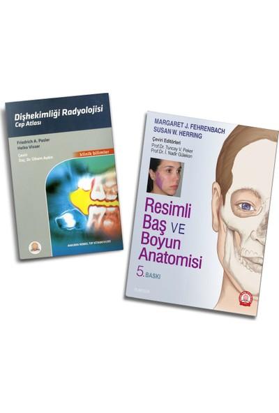 Resimli Baş ve Boyun Anatomisi ve Diş Hekimliği Radyolojisi Cep Atlası - 2'li Set