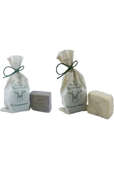 F. Ç. Naturel Sabunlar Ardıç Katranı ve Keçi Sütü Sabunu 2'li Paket