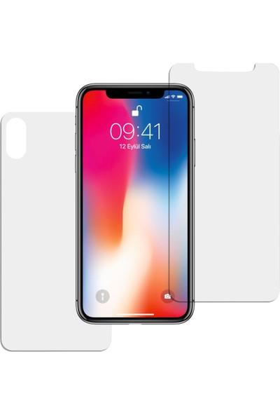 Bufalo Apple iPhone XS Max Ön + Arka Ekran Koruyucu