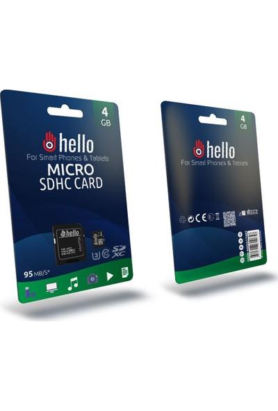 Hello 4 GB Micro Sd Hafıza Kartı