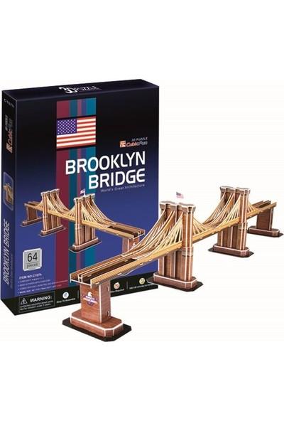 Cubic Fun 3D Puzzle Brooklyn Bridge