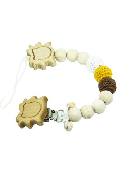 Gift For Baby Shop Emzik Zinciri Aslan Figürlü