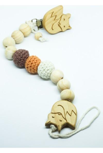 Gift For Baby Shop Emzik Zinciri Tilki Figürlü