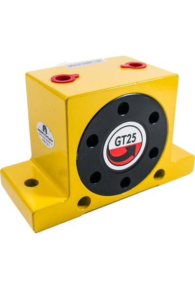 Motion Gt Serisi Türbinli Pnömatik Vibratör 37500D/D\, 2400N\, 112Lt/D