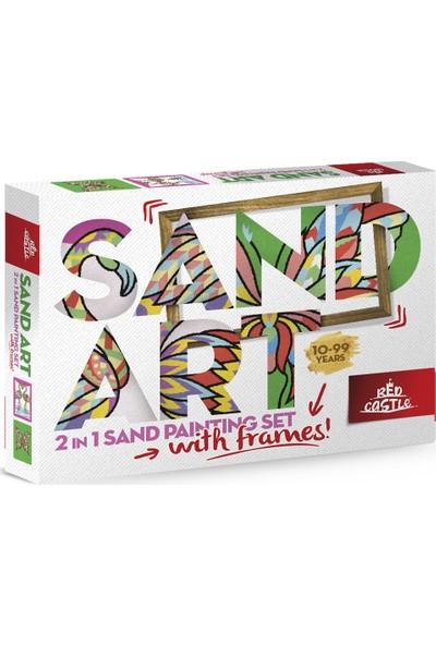 Red Castle Ykf-02 Sand Art Yetişkin Kum Boyama Aktivite Seti