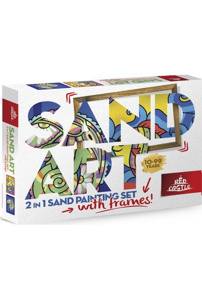 Red Castle Ykf-03 Sand Art Yetişkin Kum Boyama Aktivite Seti