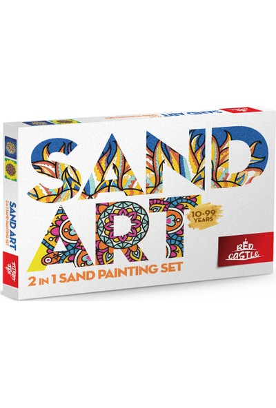 Red Castle Ykt-01 Sand Art Yetişkin Kum Boyama Aktivite Seti