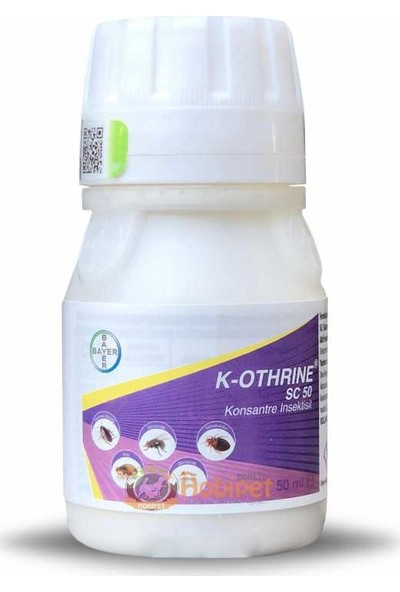 Bayer K-Othrine Sc Konsantre Haşere Ilacı 50CC