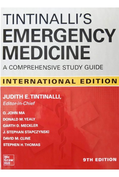Tintinalli's Emergency Medicine: A Comprehensive Study Guide - Judith E. Tintinalli