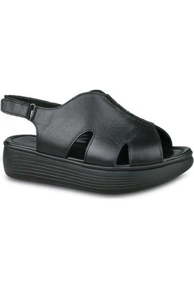 Ceyo 502 Deri Anatomik Sandalet