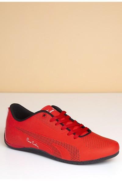 Pierre Cardin Erkek Günlük Spor Ayakkabı-Kırmızı